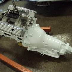 single stage gloss white motor / trans