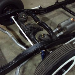 assembled chassis w/ borla exhaust