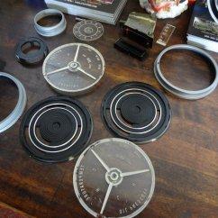 gauges disassembled