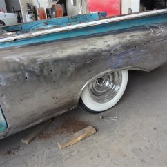 new lower rear quarter welded on