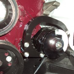 modified alternator low mounting bracket