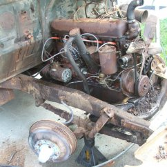 original straight six & axle front end