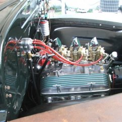 assembled engine bay