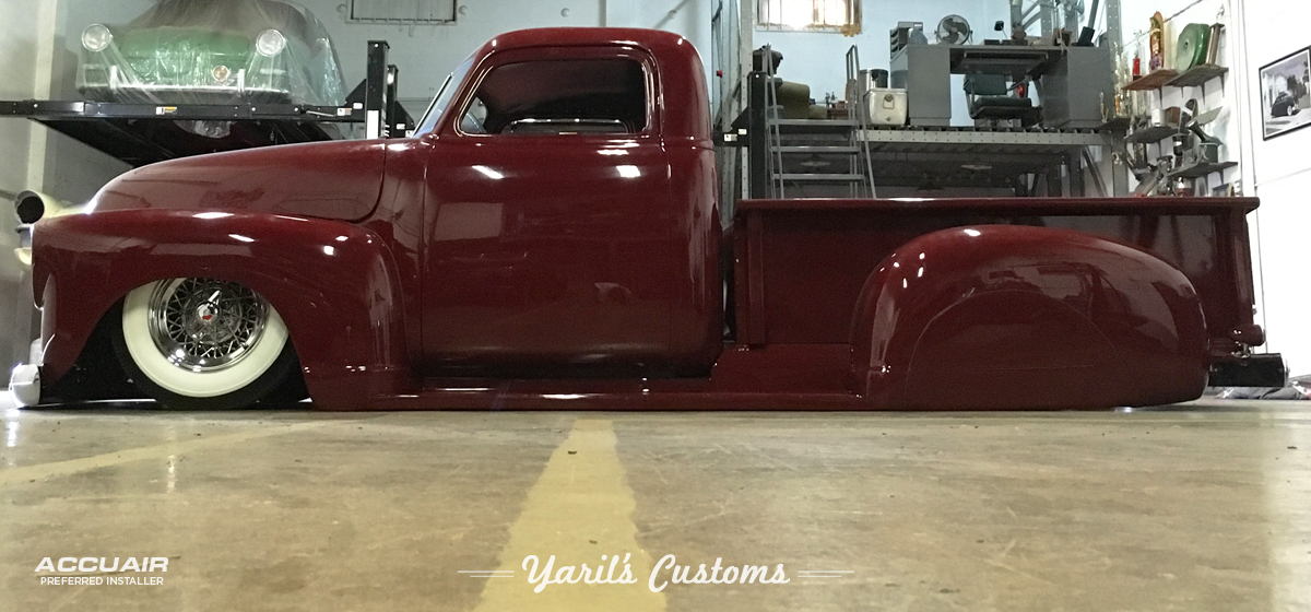 1952 Chevy Truck Chopped - Yaril's Customs
