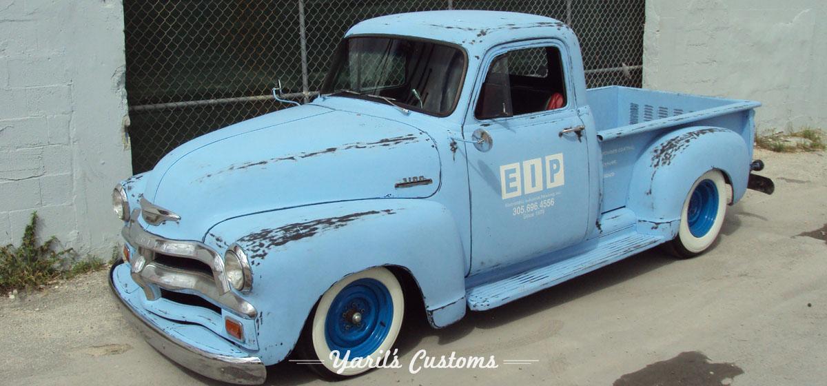 Chevy Big Truck 1954 Chevy Truck - Yaril's Customs