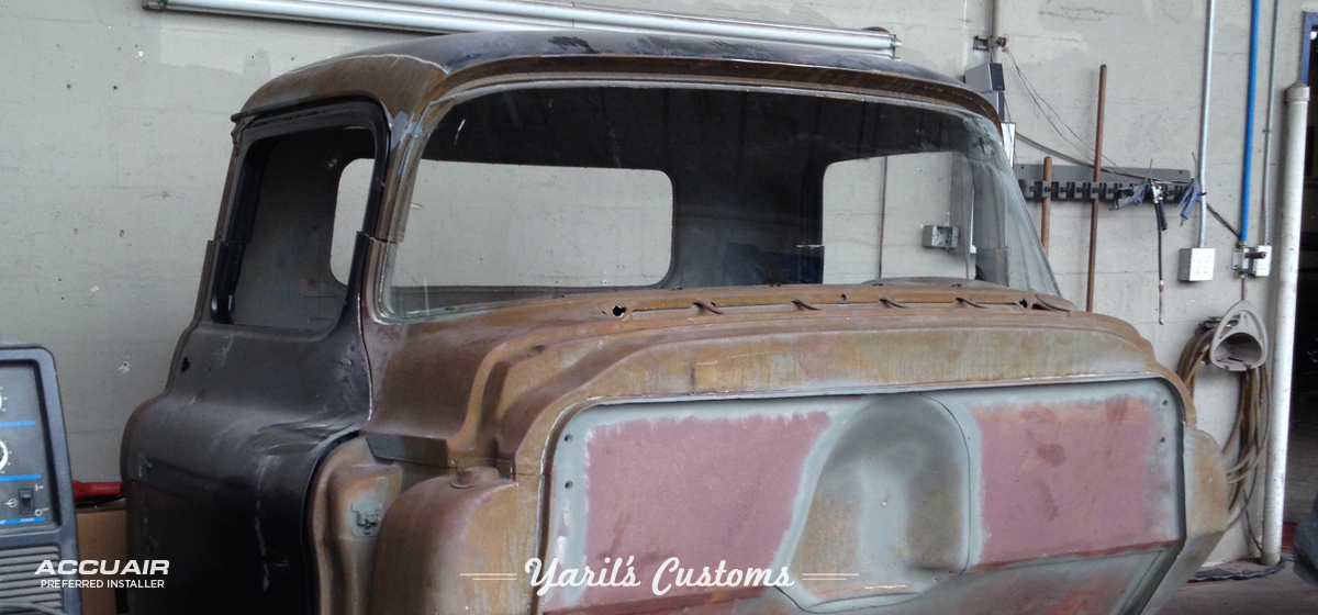 1957 Chevy Truck Chop Top Yaril S Customs