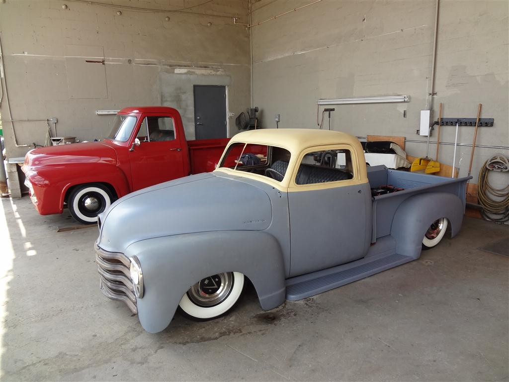 1952 Chevy Truck Chop Top - Yaril's Customs