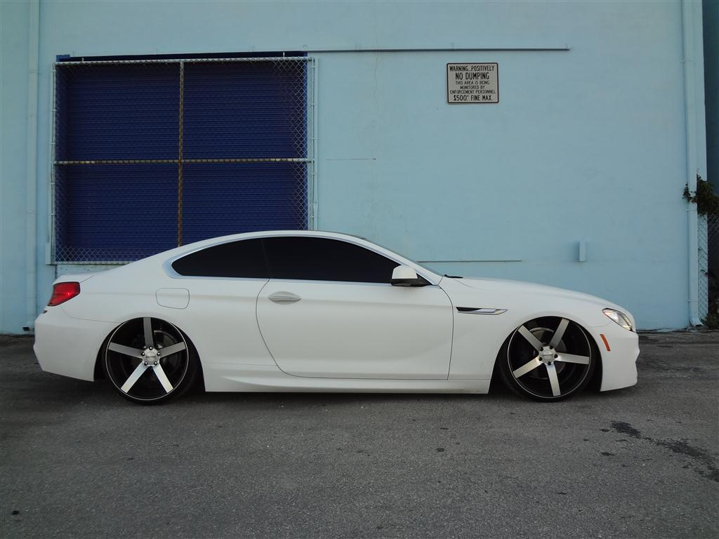 2012 bmw 650i yarils customs aired down accuair preset 1 publicscrutiny Images