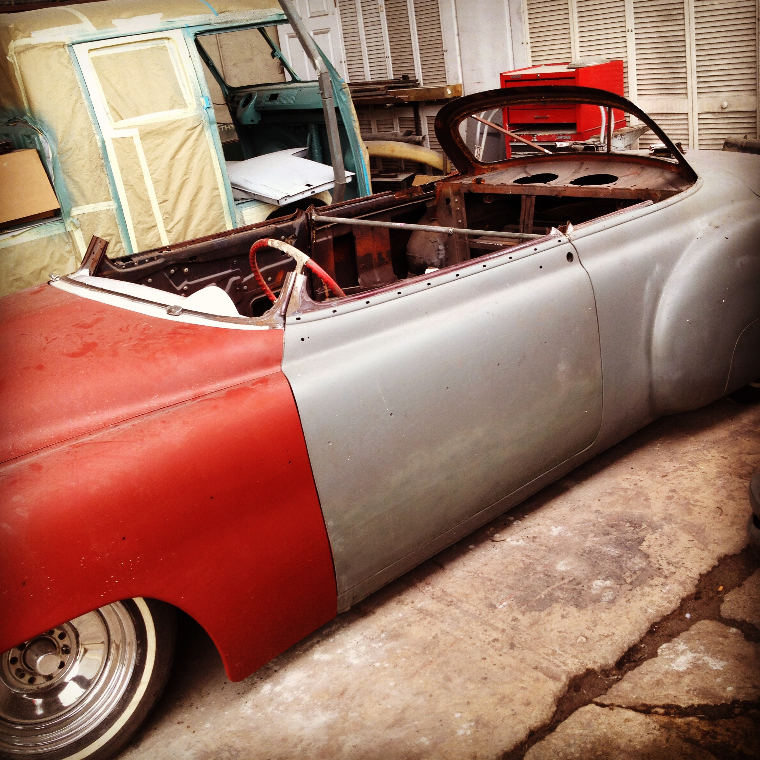 1950 Chevy Sport Coupe Chop Top Yaril S Customs