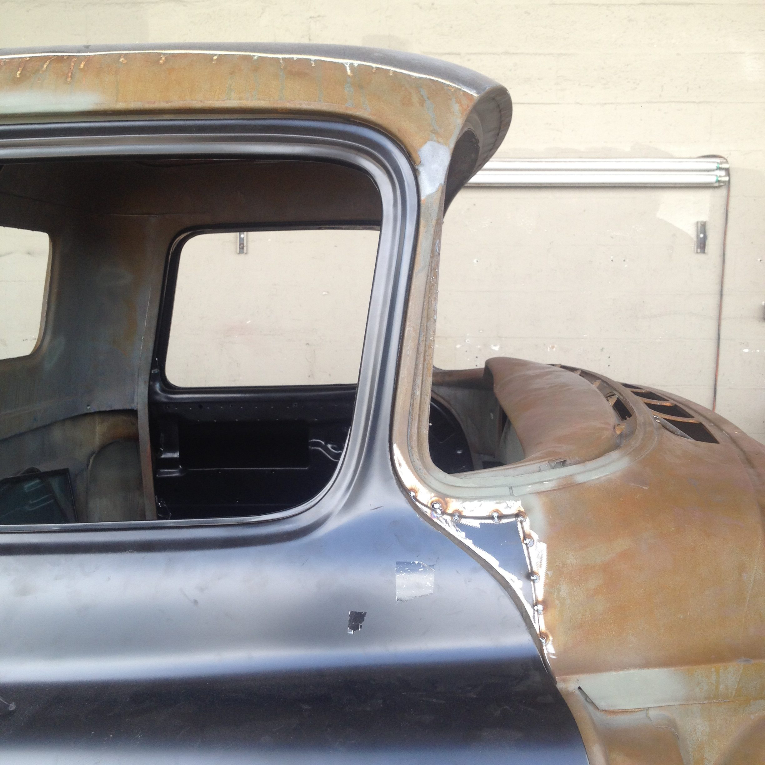 1957 Chevy Truck Chop Top - Yaril's Customs